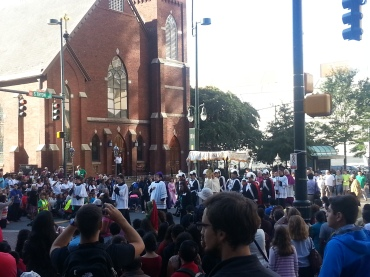 Procession of the Eucharist