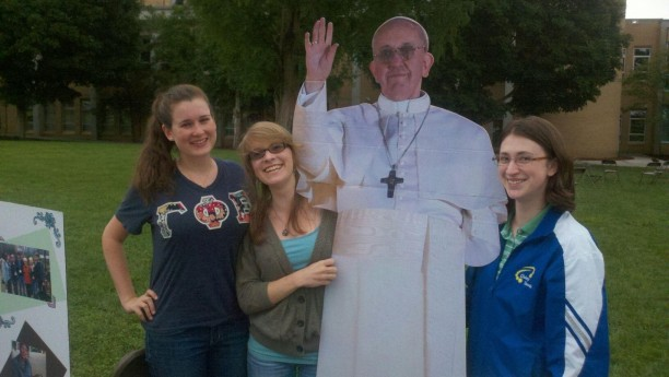Pictures with the Pope