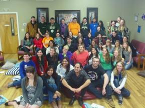 Fall Discipleship attendees