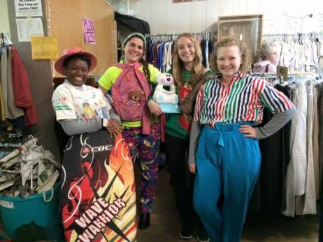 Thrift Store Fashion Show!